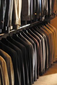 Tailored, custom menswear